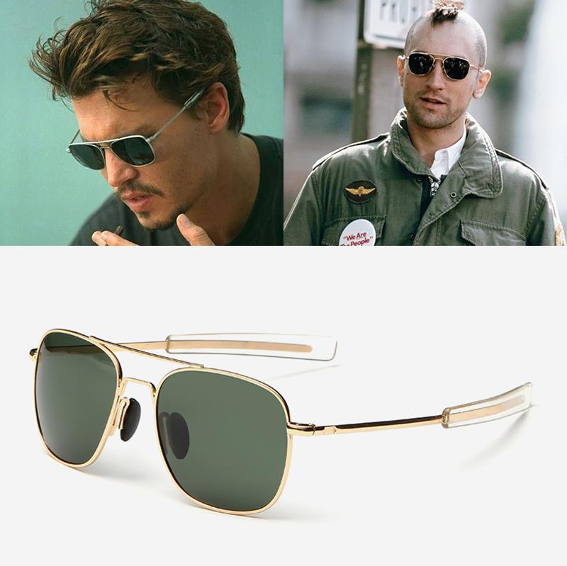 wholesale Fashion Men Army MILITARY Aviation Style Polarized Sunglasses Driving Brand Design Sun Glasses Oculos De Sol Masculino