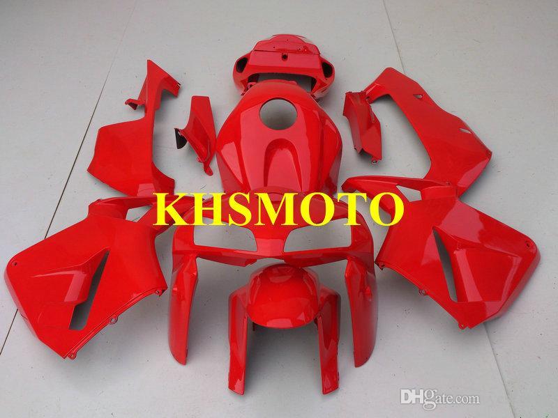 Injectie Mold Fairing Kit voor Honda CBR600RR F5 05 06 CBR600 CBR 600RR 2005 2006 Hete rode kluizen Set + 7Gifts