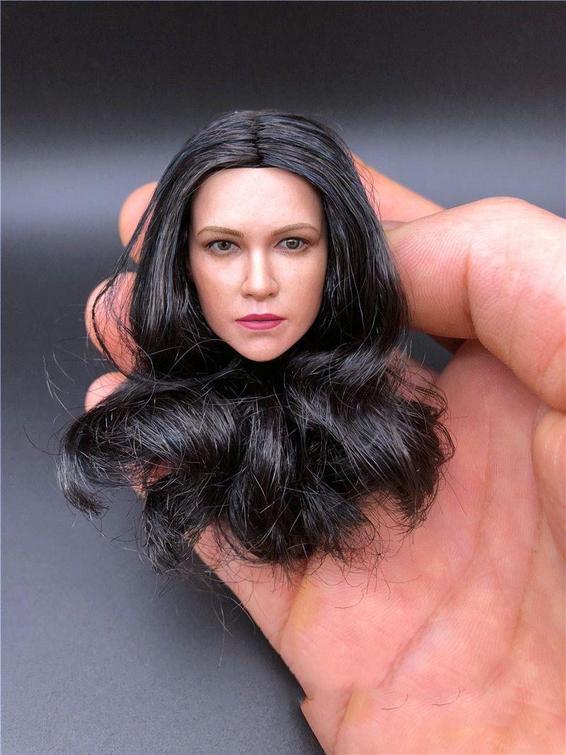 SELLER 1//6 Michelle Rodriguez Head Sculpt Fast /& Furious For Hot Toys U.S.A