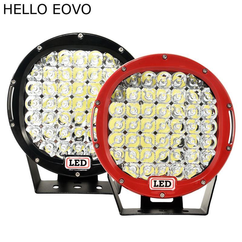 HALLO EOVO 2 stücke 9 zoll LED Arbeitslicht Flood Driving Lampe für Auto Lkw Anhänger SUV Offroads Boot 4WD 12 V 24 V 73 Watt