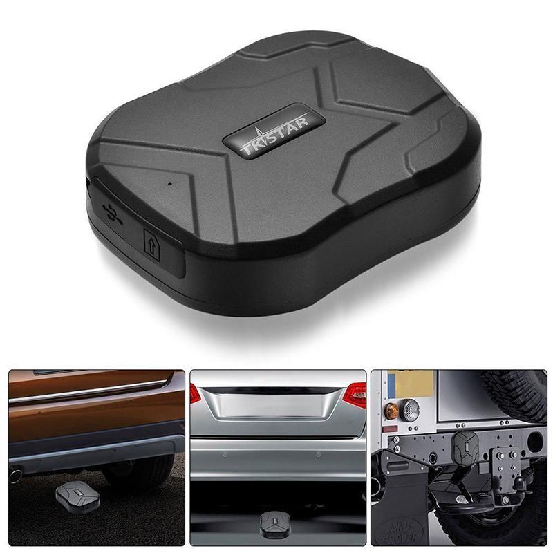 TK905 GPS 트래커 자동차 TKSTAR 2G 실시간 추적 음성 모니터 로케이터 90 일 긴 대기 방수 무료 웹 앱