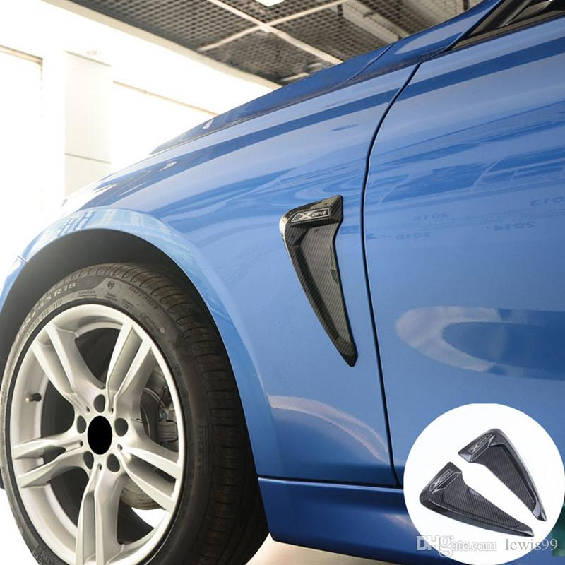 Etiqueta engomada del ajuste para BMW F30 E60 E90 E92 F10 F18 F25 F26 F26 F20 F20 F20 Etiqueta de ventilación lateral de tiburón de tiburón