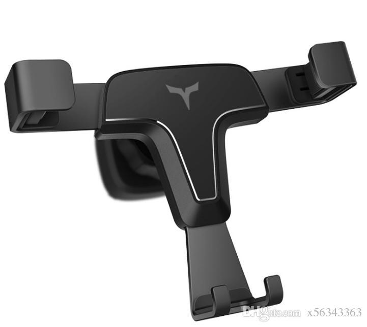 Гравитация автомобильный телефон держатель стенд вентиляционное отверстие автомобильный телефон держатель для iPhone X GPS телефон стоит стабильный кронштейн с розничной коробкой