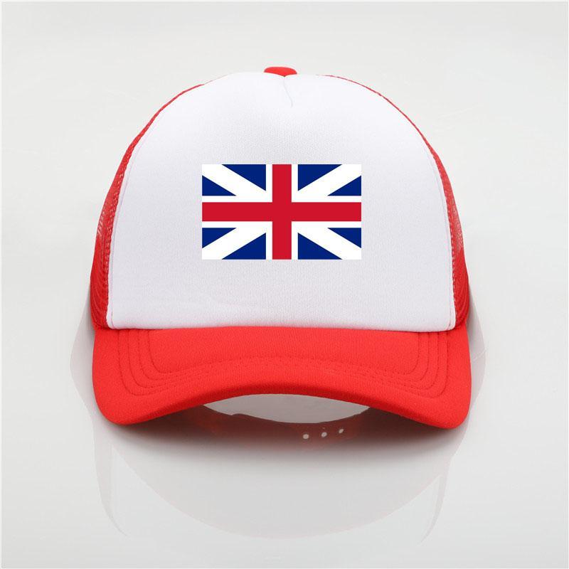 United Kingdom Flag Logo Baseball Cap Patriotic Hat Sport Soccer  Cheerleader Cap Sun Hat Youth Hip Hop Hat Beach Sunhat Baby Caps 47 Brand  Hats From