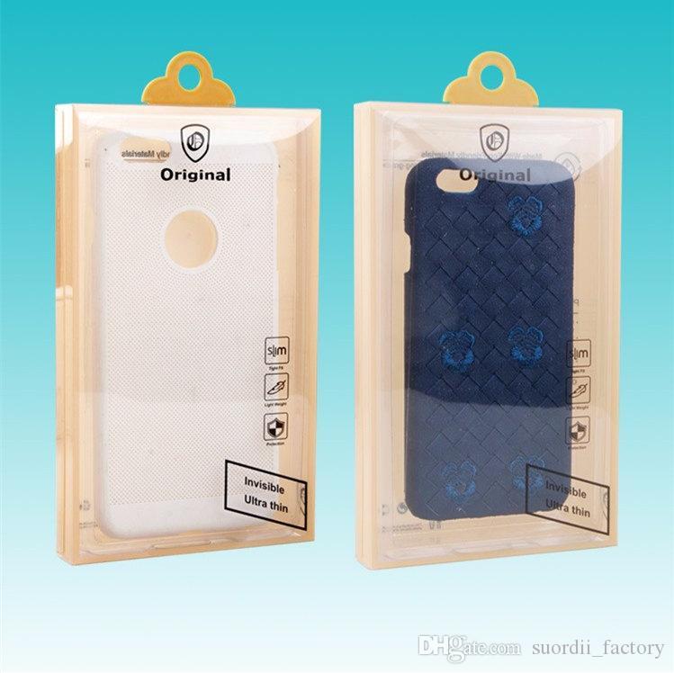 Kutu Perakende Ambalaj Plastik PVC Evrensel Ambalaj Kutu Cep Telefonu Kılıfı Packaging boşaltın Ambalaj