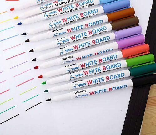 Erasable Whiteboard Marker Pens Assorted Colors Value Set Office Dry Erase Markers Office Supplies For Glass Windows Canada 2019 From Ye1124 Cad