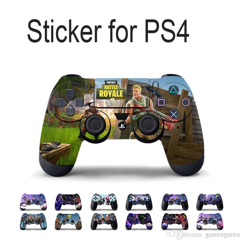 Горячий дизайн геймпад кожи наклейка наклейка для PS4 Playstation 4 контроллер ПВХ виниловые наклейки протектор DHL FEDEX EMS бесплатная доставка