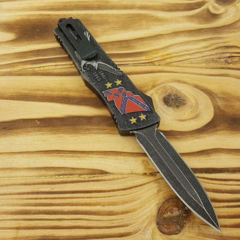 HIgh erkekler kopyalar için Murray Ulusal Birlik Ordusu Av Katlama Cep Bıçak Survival Bıçak Noel hediyesi Tavsiye