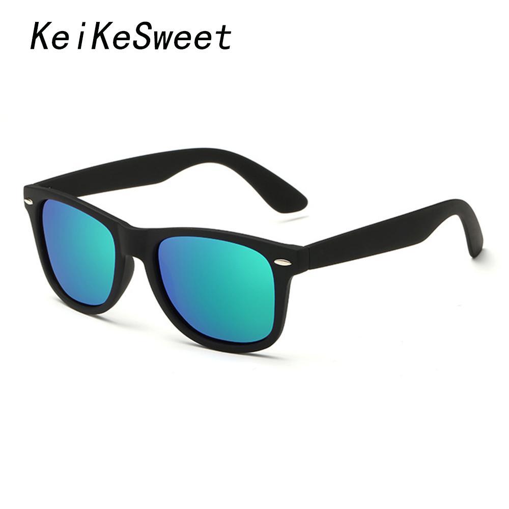 KeiKeSweet Punti polarizzati Hot Man's Brand Designer Outdoor UV400 Occhiali da sole Donna Rays Rivets Top Cool Ce Occhiali da sole