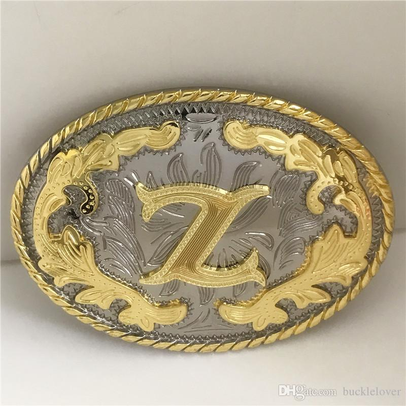 Initial Letter A Belt Buckle