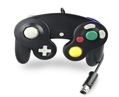 100pcs / lot trasporto veloce Vendita calda 12 colori Wired Game Controller Gamepad Joystick per NGC GameCube