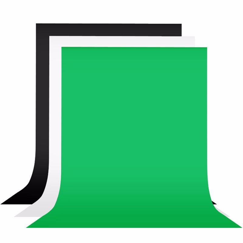 검은 녹색 흰색 2x3m 부직포 사진 배경 화면 배경 화면 사진 배경 스튜디오 사진 소품 사진 배경
