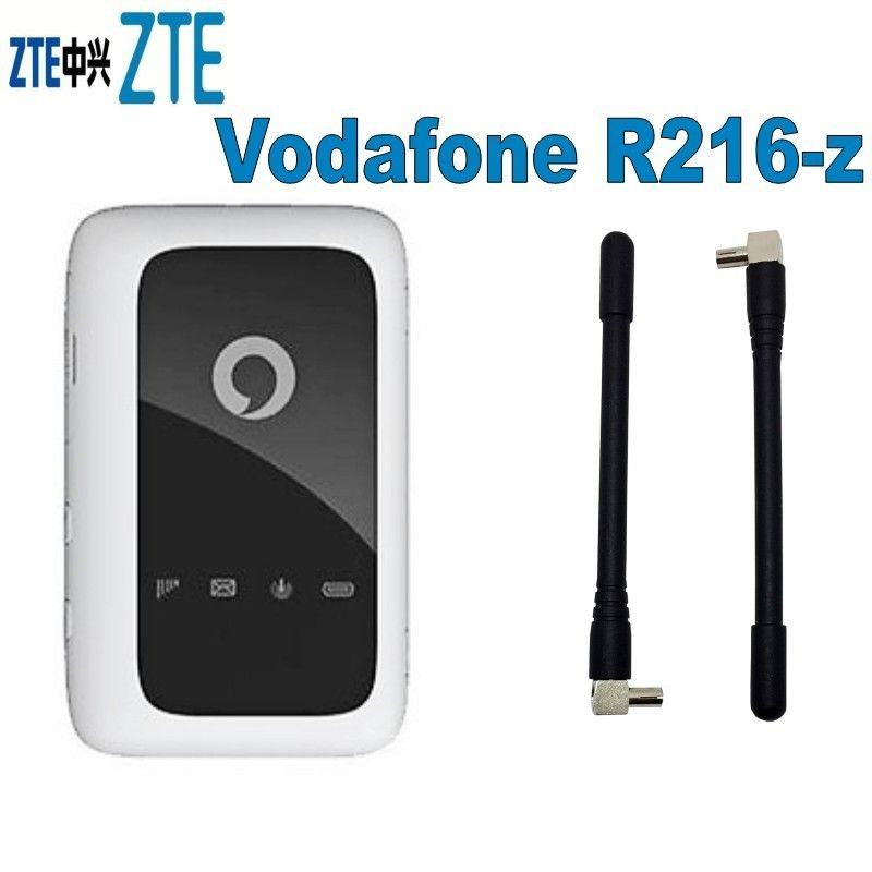 مقفلة جديد ZTE فودافون R216 R216-z مع هوائي 4G LTE 150Mbps المحمول واي فاي نقطة ساخنة 4G جيب واي فاي راوتر 4G لاسلكي
