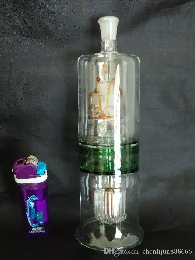 Capa de la pipa de la pipa de agua Al por mayor bongs Tubería de aceite Tubos de agua Tubería de vidrio Plataformas de aceite Fumar, Envío gratis