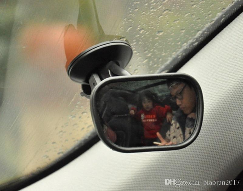 طفل مقعد السيارة الخلفي ، مرآة الرؤية الخلفية التي تواجه المقعد الخلفي مرآة سلامة الطفل الخلفي قابل للتعديل إلى الأمام مرآة الطفل للرضع