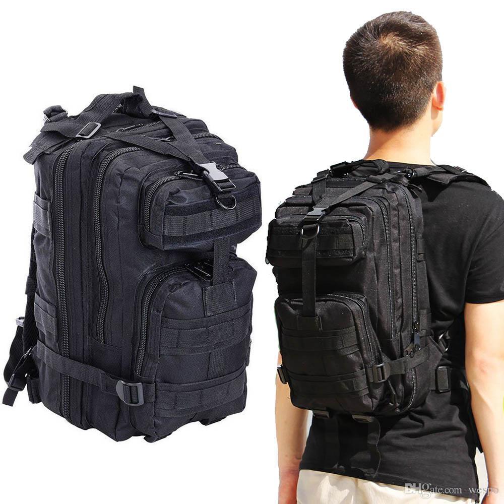 Тактический 3P армейский рюкзак водонепроницаемый 35L система Molle для ноутбука Attack Strike pack для любителей армии на открытом воздухе в поход