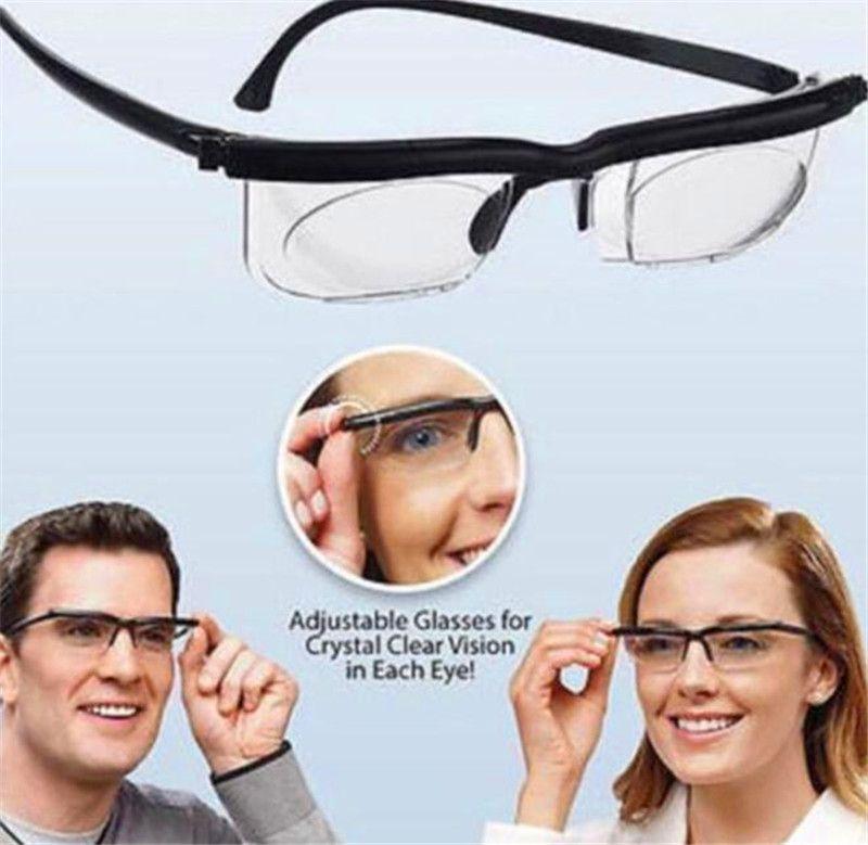 Lunettes de lecture ajustables Zoom Lunettes de presbytie Loupe pour les personnes âgées Vision Mode STYLE Vision