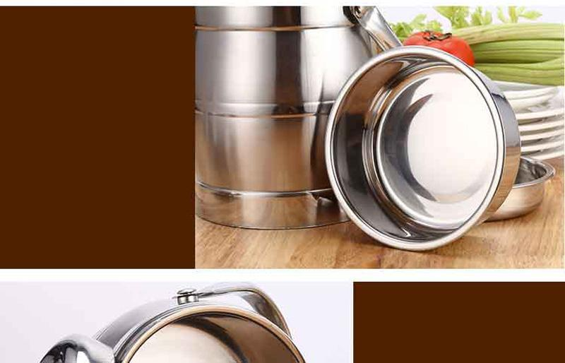 Vacuum Double Wall Stainless Steel Insulated Lunch Bento Box Portable China Japan Style Food Container For Kids Adult Student 20