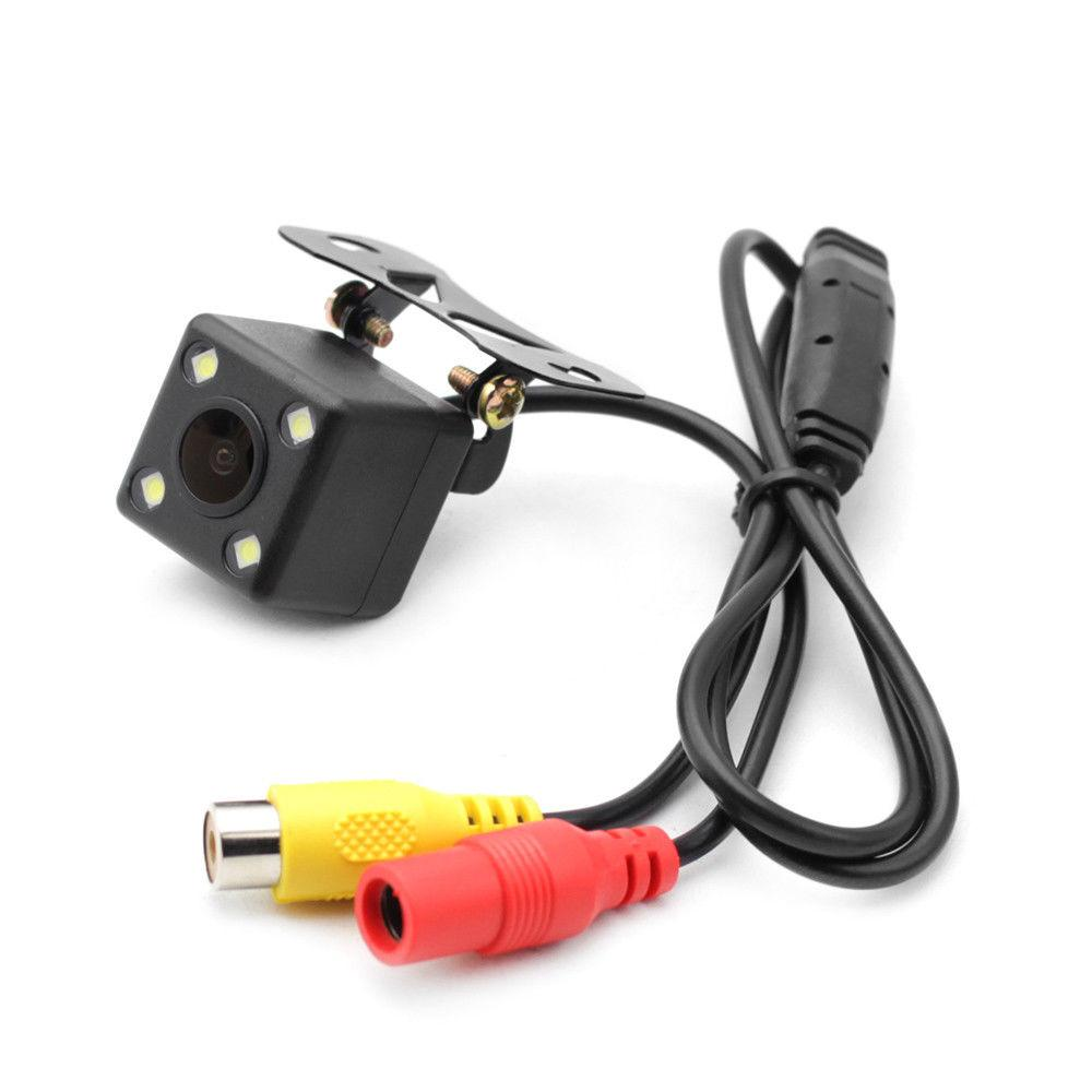Rückfahrunterstützungs-Nachtsichtkamera-Rückfahrkamera-Rückfahrparken-Auto, das LED-Recorder fährt Dhl-freies Verschiffen