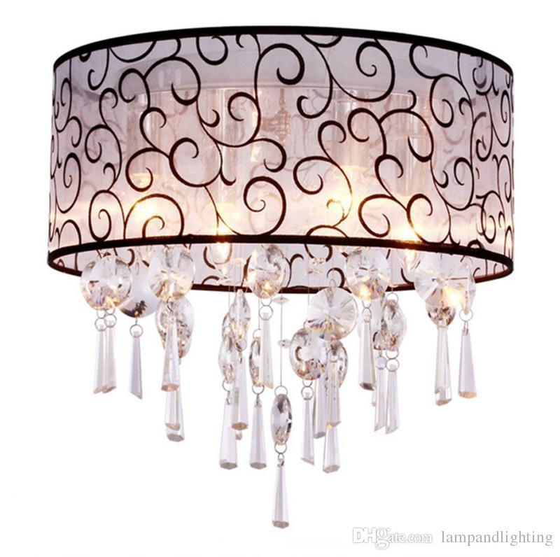 거실에 대 한 현대 크리스탈 천장 조명 침실에 대 한 크리스탈 천장 램프 비품을 주도