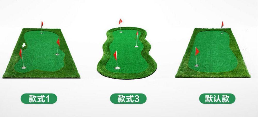3Mx1M Standard Putting Green Golf Training Aids Mini golf exercise mat Golf sport supplies