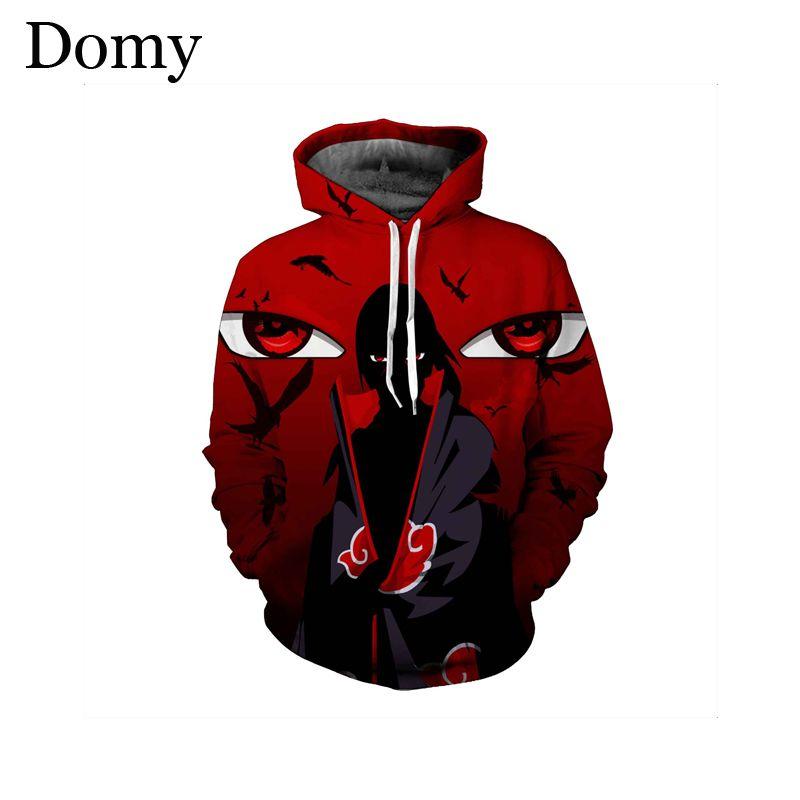 2020 Domy Fashion Men Women 3d Sweatshirt Anime Hoodies Itachi Uchiha Mangekyou Sharingan Printedautumn Winter Hooded From Saltblue 17 85 Dhgate Com