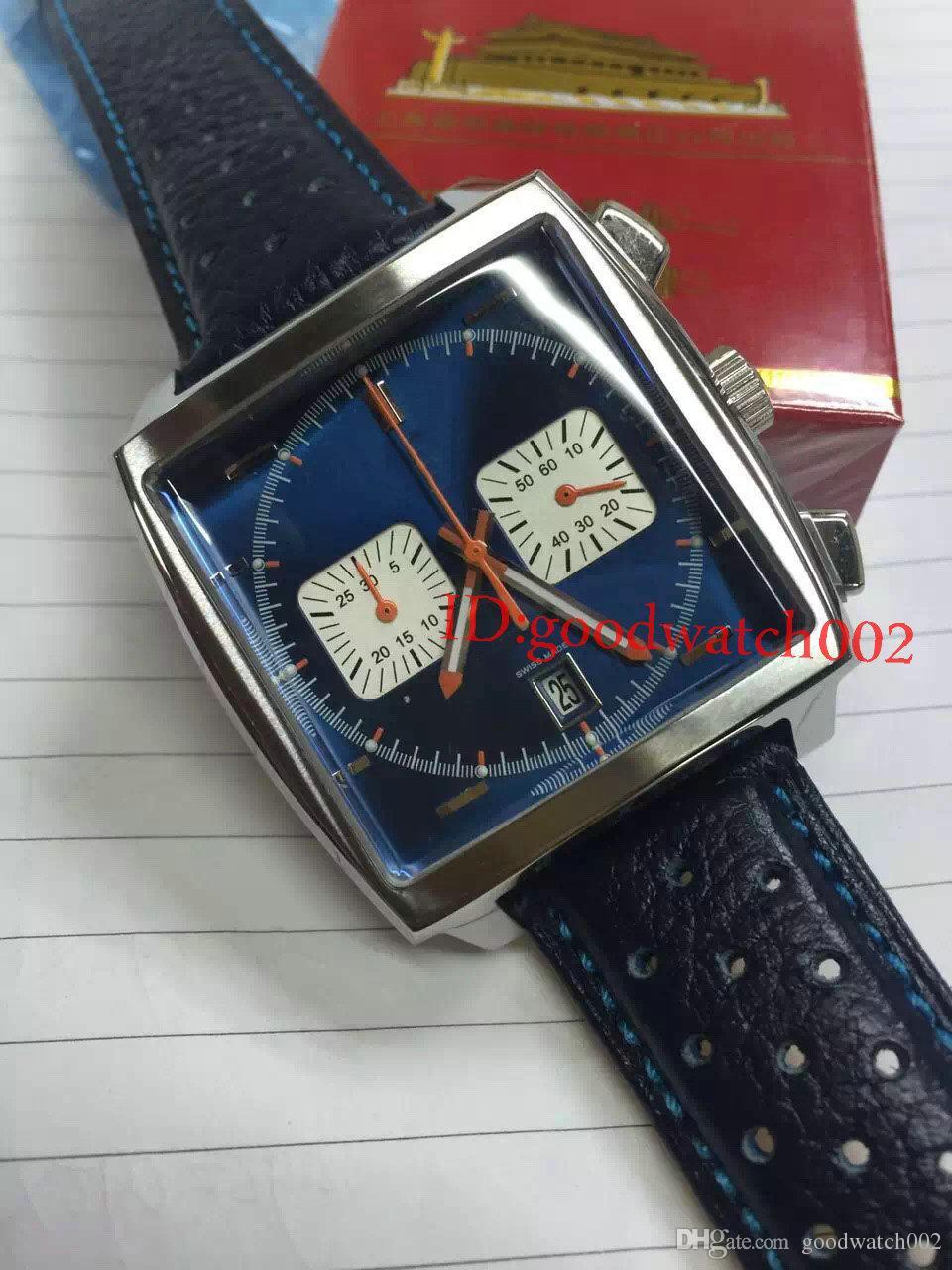2020 Novos Homens Clássicos Quartzo Movimento Moda Relógios Chronógrafo Homens Homens Assista Relógios de Relógios de Alta Qualidade