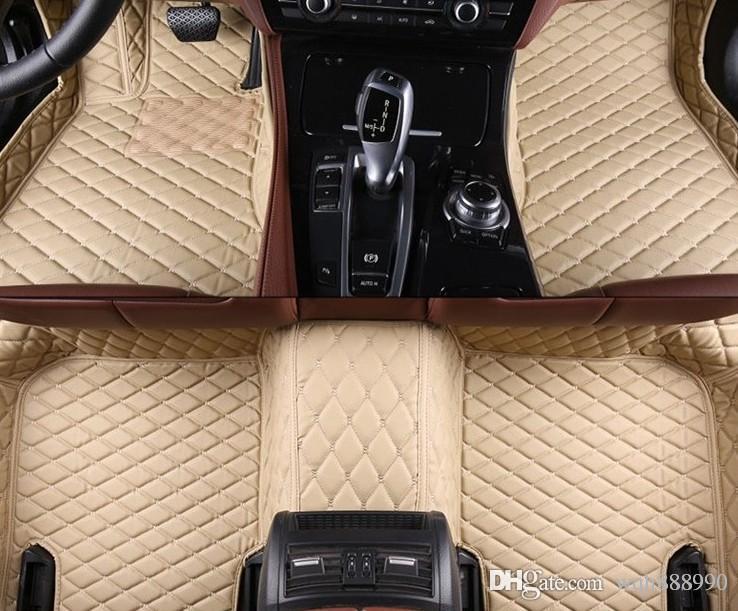 Honda Pilot 3D için yüksek kaliteli araba paspaslar tüm hava ağır tüm kapak yüksek kaliteli lüks kilim halı astar (2009-mevcut)