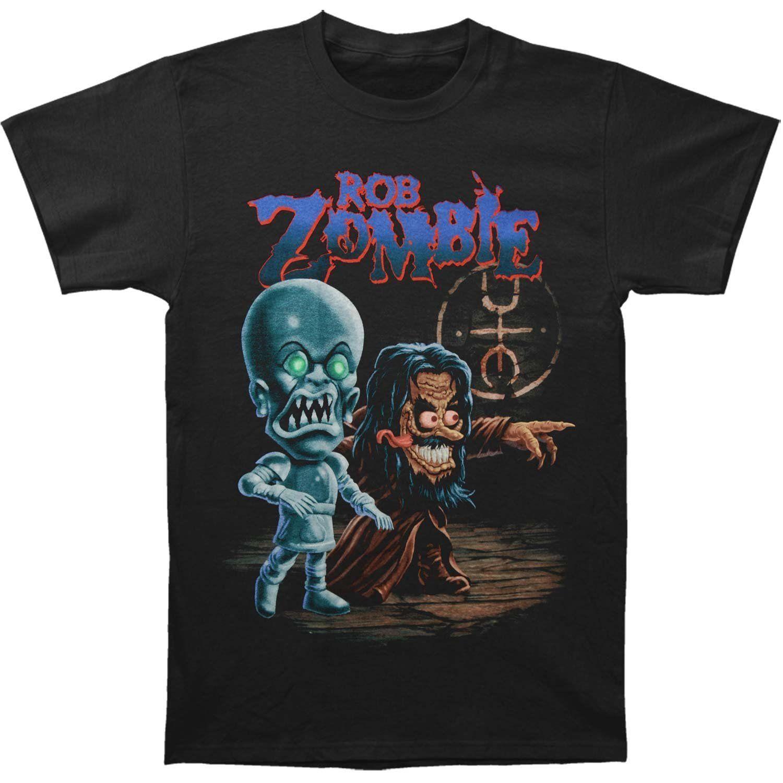 Maglietta dei vestiti di marca di Harajuku dei pantaloni a vita bassa della maglietta dei pantaloni a vita bassa della maglietta dei pantaloni a vita bassa della maglietta dei pantaloni a vita bassa della maglietta dei pantaloni a vita bassa della maglietta degli uomini di modo di Mens Rob Zombie