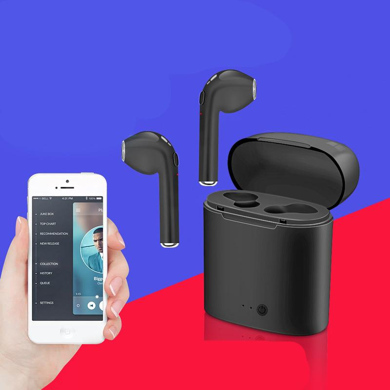 I7s Tws Bluetooth Headphone With Charger Case Twins Wireless Earbuds Earphones For Iphone X Ios Iphone Android Samsung With Retail Packing Best Phone Earbuds Headphones For Cell Phone From Zhangliangnew 9 05 Dhgate Com