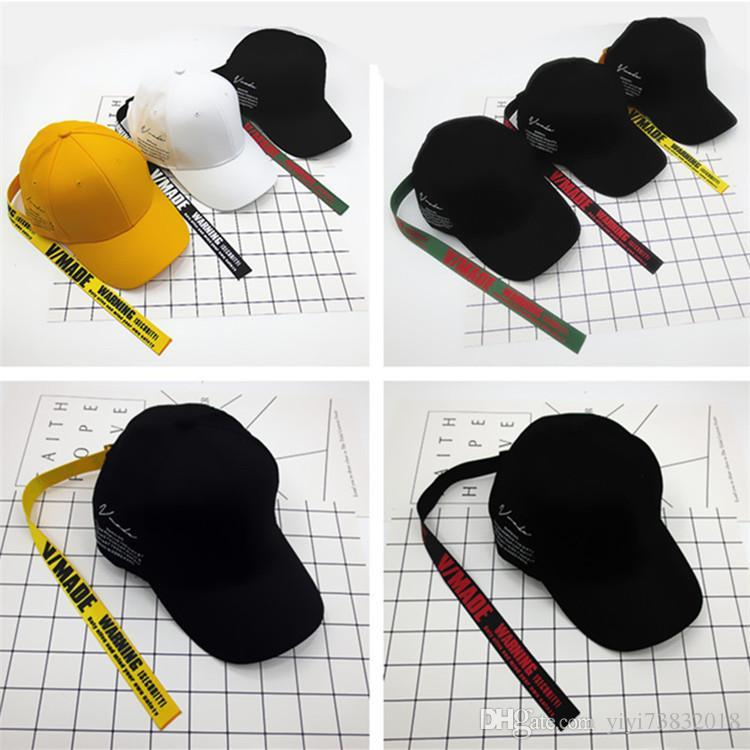 유행 노란색 벨트 야구 모자 새틴 살포기 모자 모자 패션 태양 모자를 따라 곡선
