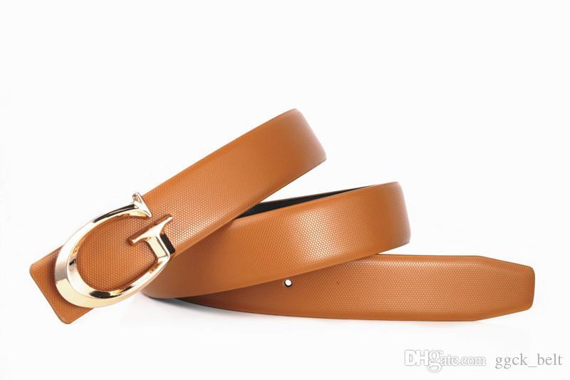 Moda Rosso di lusso cinture g Designer uomini di alta qualità maschio delle donne della fibbia G reale genuina pelle per jeans