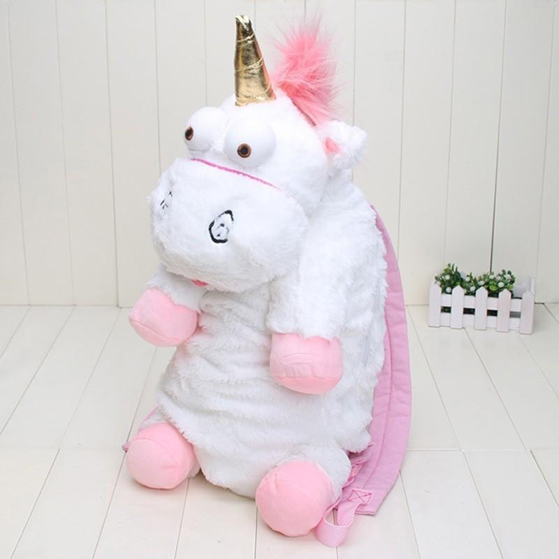 55CM 플러시 유니콘 어린이 배낭 유치원 소녀와 소년을위한 불가사리 선물 귀여운 인형 장난감 가방 어린이 배낭 동물 Y18100804