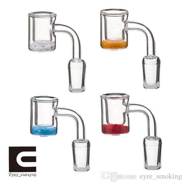 Кварцевые термохромные ведро Banger 10 мм 14 мм 18 мм мужской женский цвет изменение кварцевые термохромные Banger ногти для стекла бонги Dab буровых установок