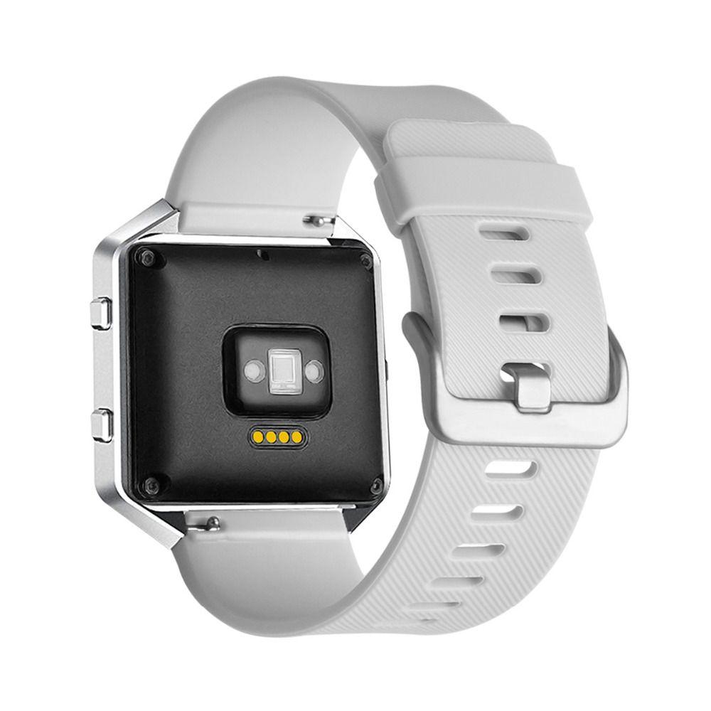 Fitbit Blaze De Remplacement En Silicone Caoutchouc Bande Strap-Neuf