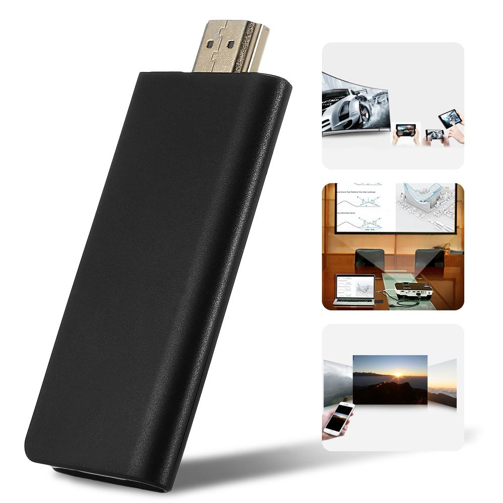 WECAST Miracast Dongle Wireless HDMI TV Stick for Netflix و YouTube Mirroring by Airplay DLNA Tv Stick 2.4GHz 1080P 3060 Chorme