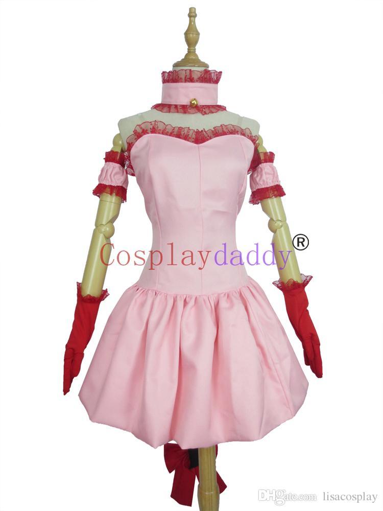 Transfiguration Tokyo Mew Mew Ichigo Momomiya Cosplay Costume Custom Made