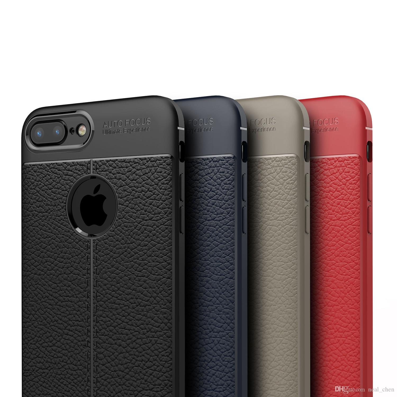 Lusso Fibra carbonio Leather Pelle Sottile Custodia Cover Apple