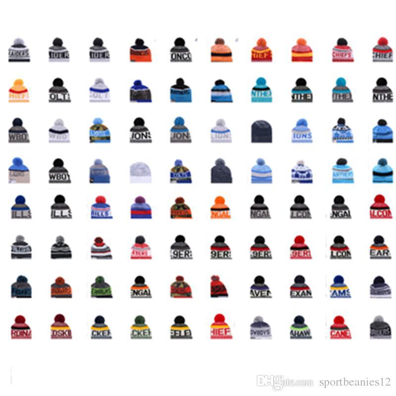 2020 الشتاء الأمريكية فريق بيني قبعات بوم الرياضة قبعات البيسبول Snapback Cpas كل ما في المخزن متماسكة قبعة أعلى جودة قبعة أكثر 6000 + أنماط