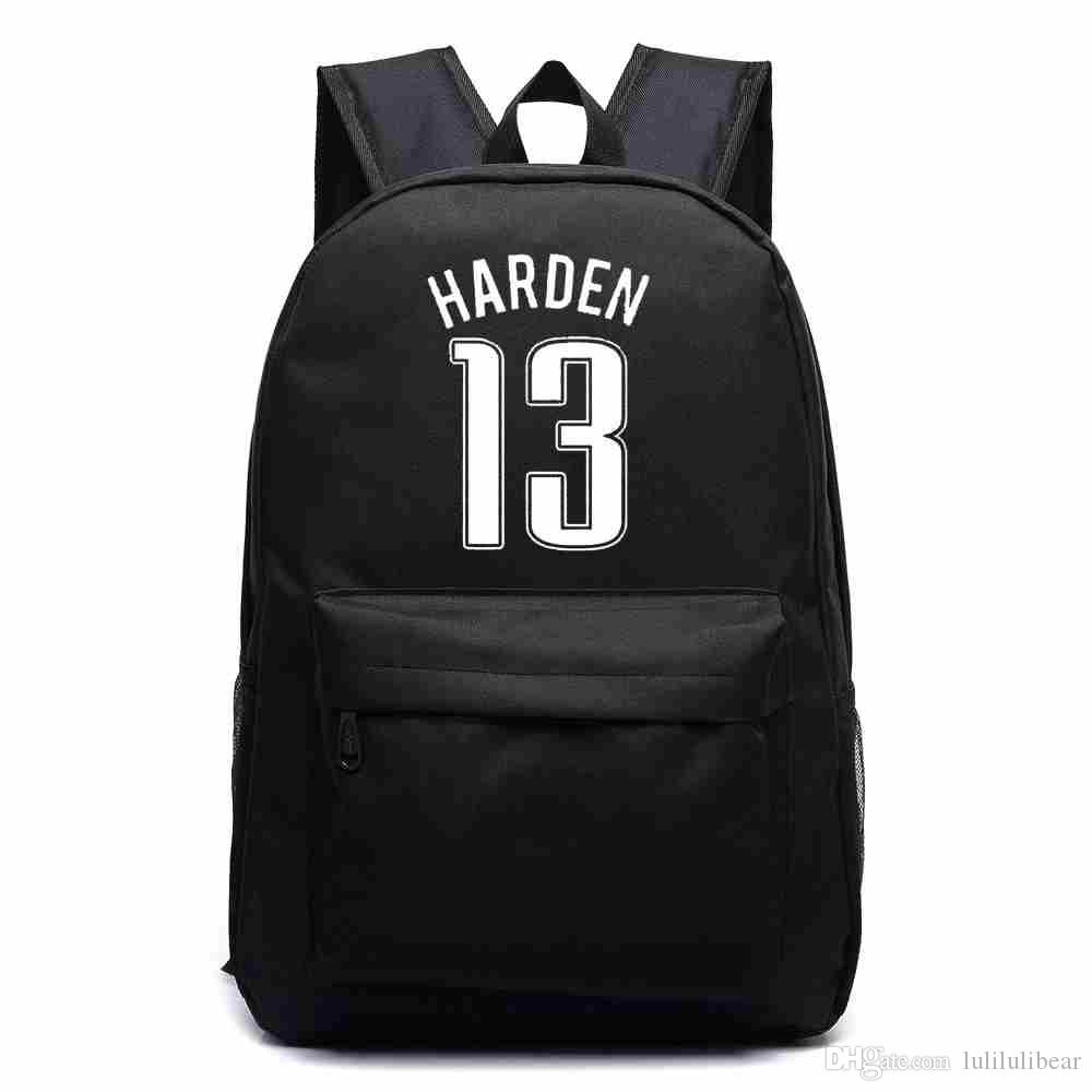 جيمس بوي قماش ظهره الرجال كرة السلة هاردن حقيبة الظهر