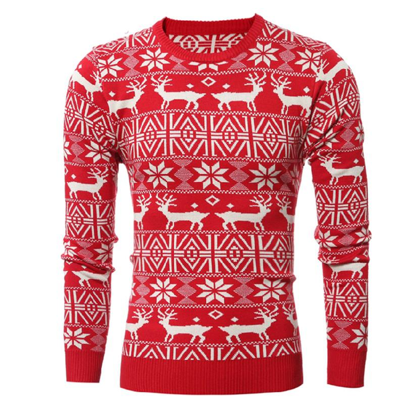 Christmas Running Top.2019 2018 New Christmas Style Autumn Runing Shirts Sweater Men Deer Printed Slim Fit Pullover Winter Long Sleeve Knitting Gym Clothes From Gqinglang