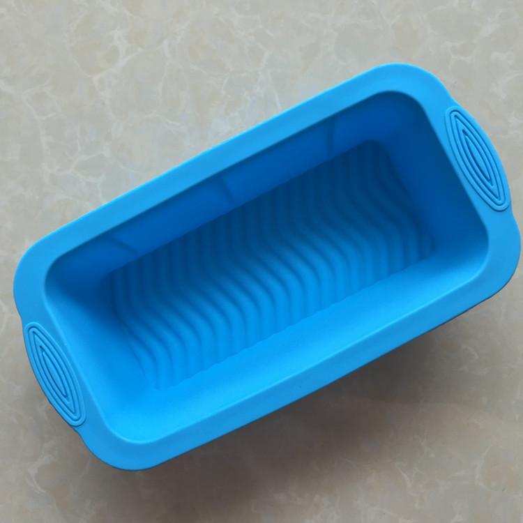 DIY Cook Mould Single Rectangle Silicone Gel Toast Will Roast Disc Cake Model No Sticky Mold Baking