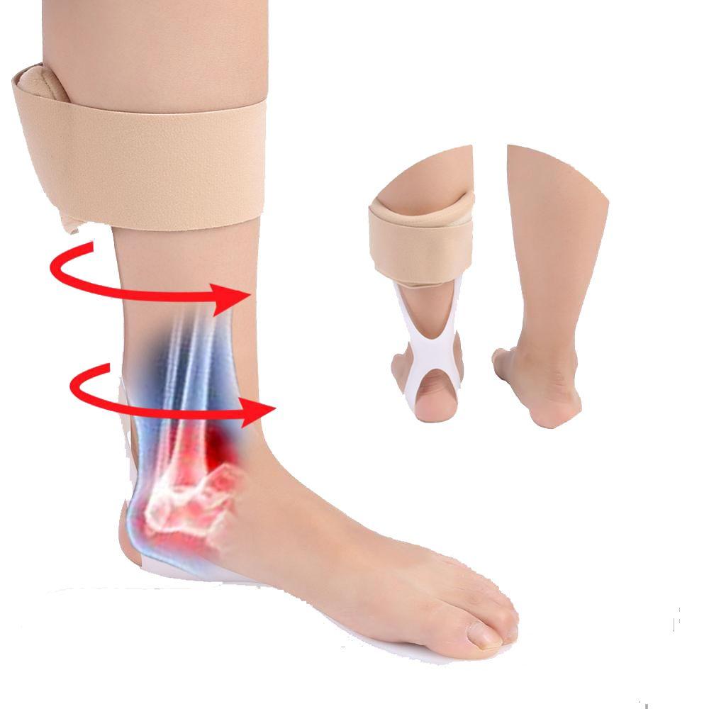 Ankle Splint Brace Adjustable Foot Drop Orthosis Ankle Corrector Protection Stroke Hemiplegia Rehabilitation Foot Splint Support