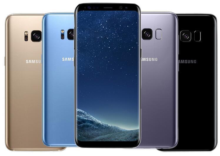 """Original Samsung Galaxy S8 Além disso G955U G955F Octa Núcleo 64 GB 12MP 6.2 """"Único Sim Desbloqueado Remodelado Telefone"""