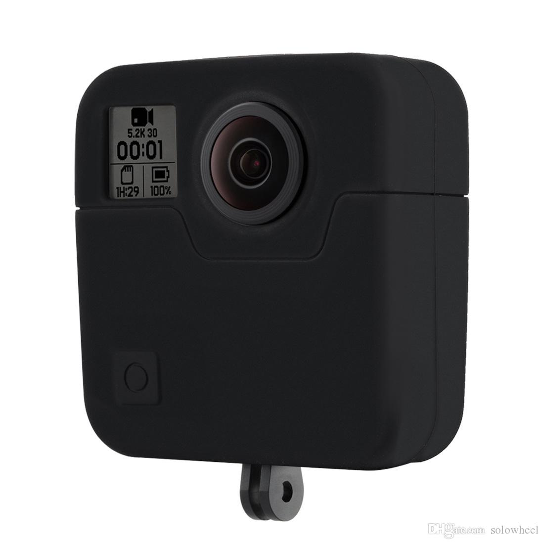Soft cover box Gopros Silicone case and lens cover for Go pro Fusion camera accessories set GP705