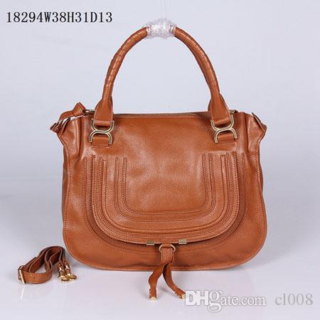 Mulheres casuais Multi-funcional sacos de couro 38cm forma real sacos de couro luz de ombro média alças duplas redondas RGXEJ