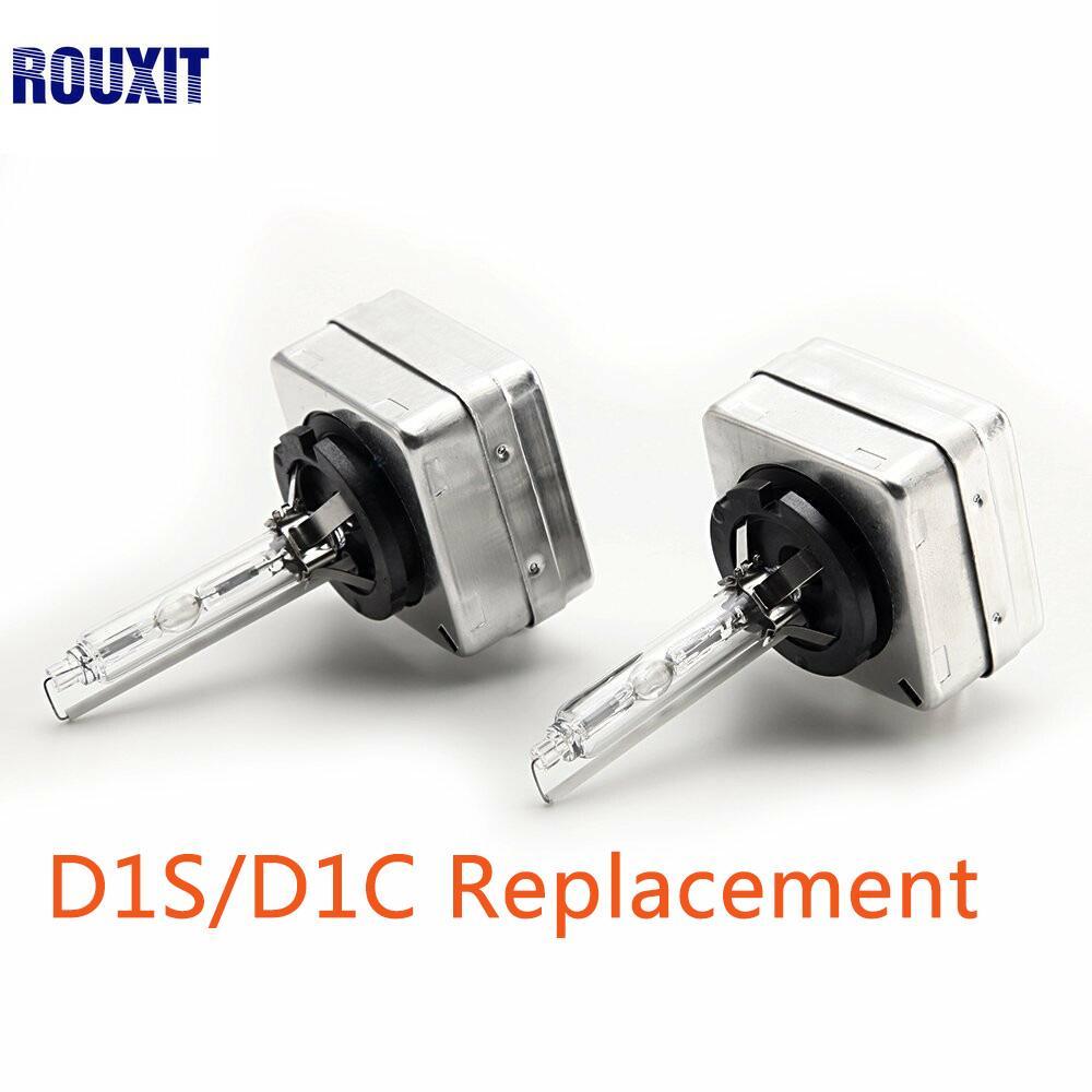 2 pcs D1S Hid Substituição 12 V 35 W D1R D1C Xenon Branco Lâmpadas Faróis Lâmpadas de Carro de Alta Lumen 4300 K 5000 K 6000 K 8000 K