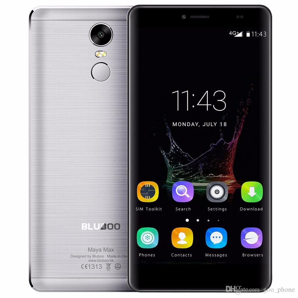 "BLUBOO Maya Max Mobile Phone 6.0 ""HD MTK6750 Octa Core 3GB 32GB Android 6.0 13MP + 8MP Dual SIM 4G LTE Fingerprint 4200mAh"