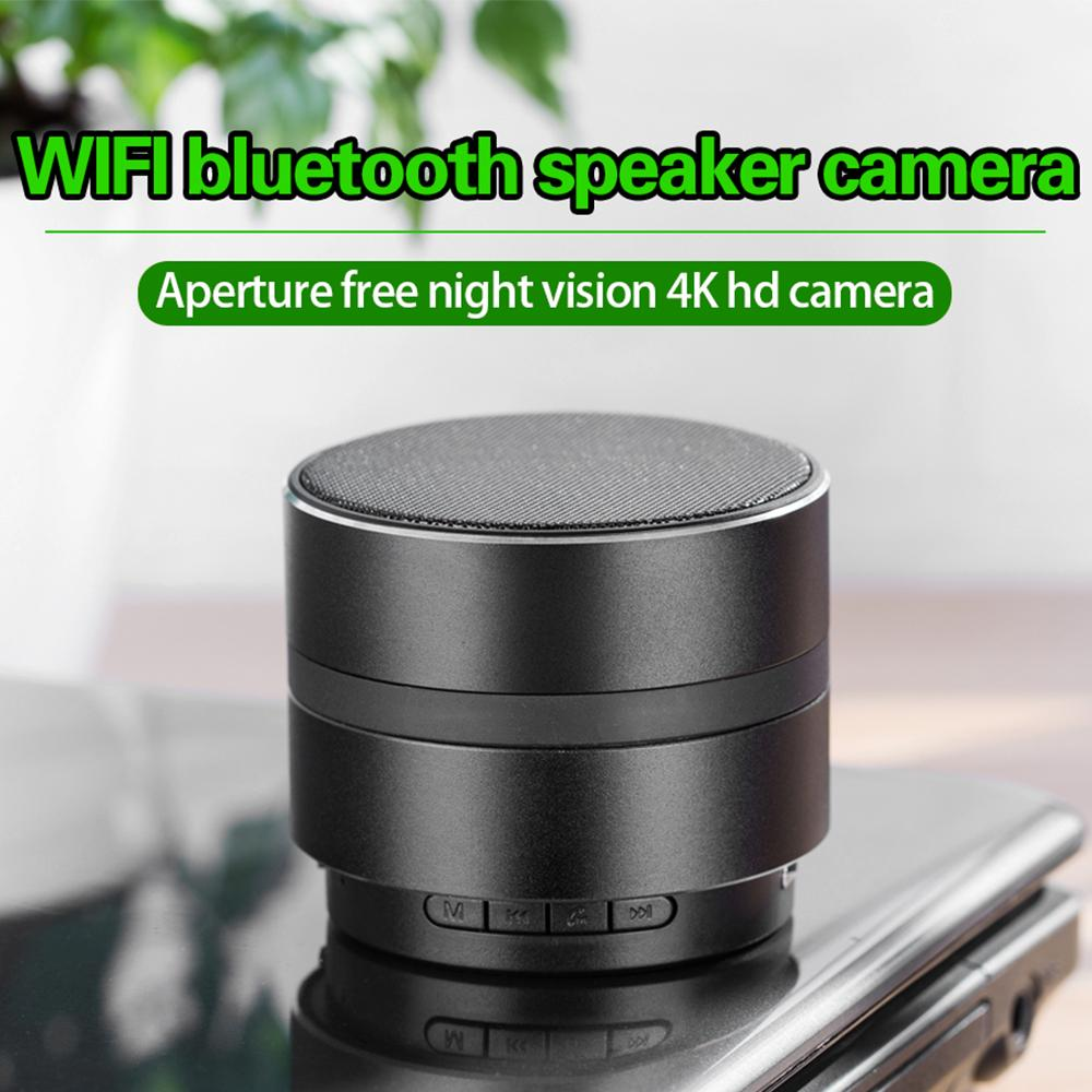 Tragbar Bluetooth WiFi Mini IP 4K Kamera Camcorder Musik Lautsprecher