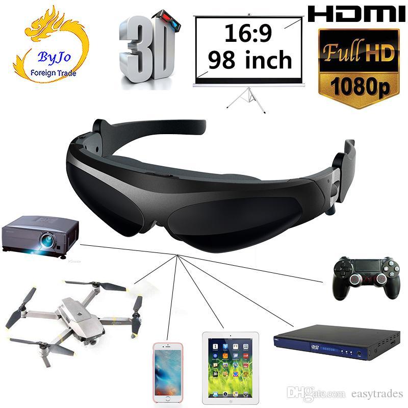 Neue HD922 FPV 3D-Videobrille 2 Meter Abstand 98 Zoll virtuelle Anzeige großen Bildschirm Unterstützung IOS und Android HD-Eingang 1080P